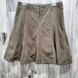 Athleta Olive Green Whatever Skirt/Skort Sz 10